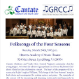 190324 FOLKSONGS OF THE FOUR SEASONS Cantate Children's and Youth Choir