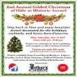 171209 - 1850's GILDED CHRISTMAS CELEBRATION Historic Avenel