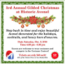 181208 - 3rd ANNUAL GILDED CHRISTMAS CELEBRATION Historic Avenel
