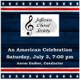 210703 AN AMERICAN CELEBRATION Jefferson Choral Society
