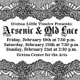 160219 Gretna Little Theatre: ARSENIC & OLD LACE