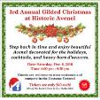181208 - 3rd ANNUAL GILDED CHRISTMAS CELEBRATION Historic Avenel