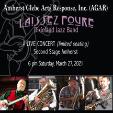 210327 LAISSEZ FOURE Dixieland Jazz Band - Live * AGAR Amherst Java & Jazz
