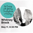 210411 May 11 VISIOINS & PERSPECTIVES: WHITNEY BROCK Smith Mountain Arts Council