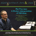 190824 FLAT FIVE JAZZ: A MODERN INTERPRETATION OF OLD IDEAS * AGAR Coffee &  Jazz Evening