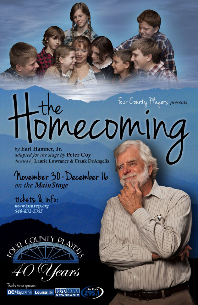 x121214 The Hamner Theater's THE HOMECOMING by Earl Hamner
