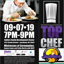 190907 TOP CHEF Jubilee Family Development Center