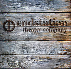 Endstation logo on wood