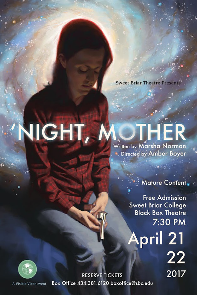 x170421 'NIGHT, MOTHER Sweet Briar College Theatre