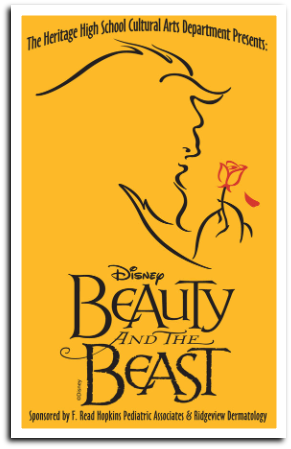 x170209 HHS Pioneer Theatre BEAUTY & THE BEAST