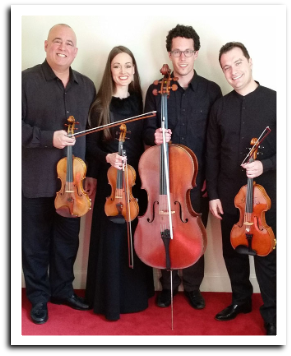 x161113 Amherst Chamber Music at Bower Center: THE JAMES STRING QUARTET