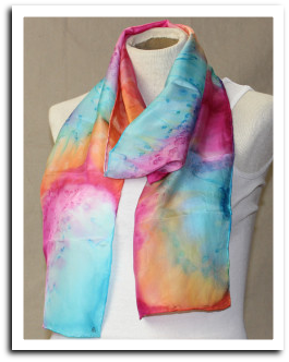 xc160917 Bower Center class: SILK SCARF PAINTING WORKSHOP