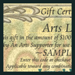 LynchburgTickets.com Gift Certificate