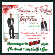181207 CHRISTMAS IN CLIFFORD with Jimmy Fortune * Benefit Concert