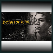 181020c BERLIND SYMPOSIUM: Screening BOOM! FOR REAL: THE LATE TEENAGE YEARS OF JEAN-MICHEL BASQUIAT Maier Museum