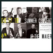 170617 SUMMER CONCERT AT THE MAIER Forte Chamber Music