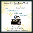 180420 THE IMPORTANCE OF BEING EARNEST Appomattox Courthouse Theatre