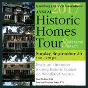170924 HISTORIC HOMES TOUR & PATRON'S PARTY Lynchburg Historical Foundation