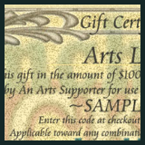 * Donate to the Arts