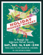 x171216 HOLIDAY MAKER'S MARKET Jefferson Choral Society