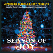 x181201  SEASON OF JOY Jefferson Choral Society