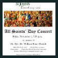 191101 ALL SAINTS DAY CONCERT St. John's Concerts