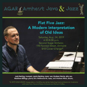 200328 FLAT FIVE JAZZ: A MODERN INTERPRETATION OF OLD IDEAS * AGAR Coffee &  Jazz Evening